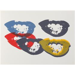 Andy Warhol, I Love your Kiss Forever (Marilyn), Sunday B Morning Serigraph