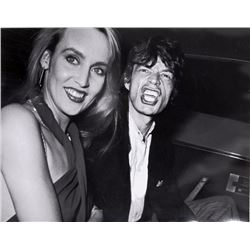 Ron Galella, Limelight - Mick Jagger and Jerry Hall, Photograph