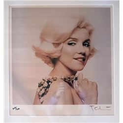Bert Stern, Marilyn Biting Lip from The Last Sitting, Ektacolor Photograph