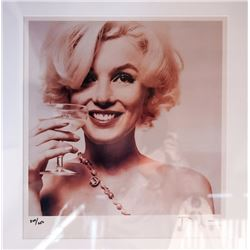 Bert Stern, Marilyn with Cocktail from The Last Sitting, Ektacolor Photograph