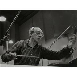 Jules Tannenbaum, Aaron Copland, Carnegie Hall Recording, Something Wild, Photograph