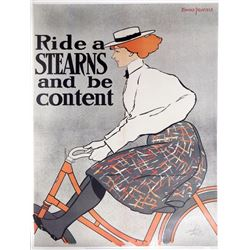 Edward Penfield, Ride a Stearns and Be Content - Metropolitan Museum of Art, Poster