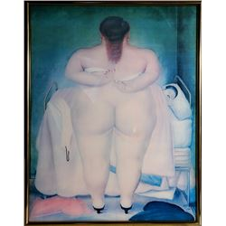 Fernando Botero, The Morning After, Poster