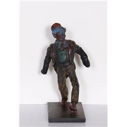 Rube Lucius Goldberg, Strutting Man, Bronze