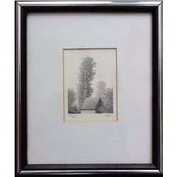 Robert Kipniss, West Wind, Lithograph