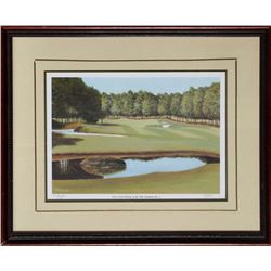 McLaughlin, View of the Fairway at the 16th: Pinehurst No. 2, Offset Lithograph