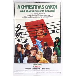 A Christmas Carol with Albert Finney, Movie Poster