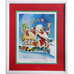 Carl Barks, Gifts for Shacktown, Lithograph