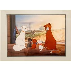 Disney, The Aristocats on Farm, Offset Lithograph