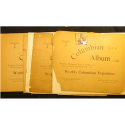 "Part Five, Six, & Seven ""Columbian Album Containing Photographic View of Buildings and Points of Int"