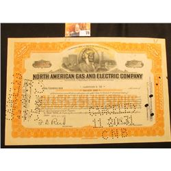 """April 30, 1931 Serial Number N.Y.O.2439 """"Incorporated Under the Laws of the State of Delaware North"""