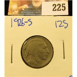 BETTER DATE 1926-S BUFFALO NICKEL