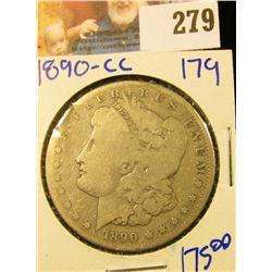 1890-CC CARSON CITY MORGAN DOLLAR