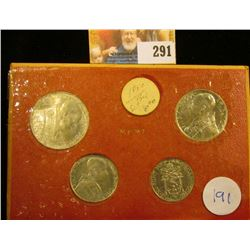 VATICAN COIN SET