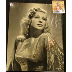 """Black & White 7"""" x 9"""" Autographed Photo of Chili Williams (December 18, 1921 – Oct. 17, 2003) was an"""
