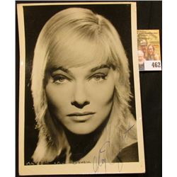 "5 1/2"" x 7"" autographed black and white photo of May Britt. May Britt (born 22 March 1934) is a Swed"