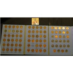 1941-74 Partial Set of Lincoln Cents in a blue Whitman folder.