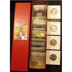 "9"" x 2"" x 2"" Coin Stock Box full of High grade full of various Statehood Quarters."