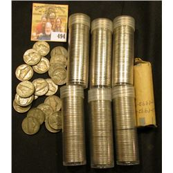 Approximately $14 face value in Jefferson Nickels including a nice selection of Silver World War II