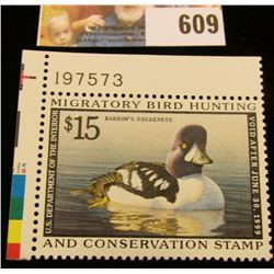 1998 RW 65 Federal Migratory Bird Hunting $15.00 Stamp, unsigned, original gum, NH, VF. Plate number