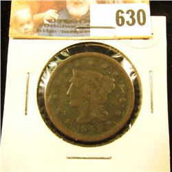 1849 U.S. Large Cent, VG. The Most Famous Year of the Gold Rush.