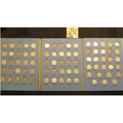 1916-45 Partial Set of Mercury Dimes in a blue Whitman folder. (60 pcs.).