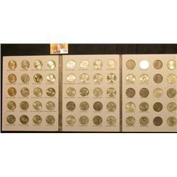 1999-2006 Partial Set of Statehood Quarters in a Whitman folder. $12.75 face value.