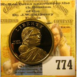 2010 S Sacagawea Natice American Superb Cameo Proof Dollar.
