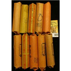 "(10) Rolls of Lincoln Cents in paper wrappers, unchecked by me, but most or all appear to be ""Wheat"