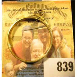14K Gold Bezel for a $10 U.S. Gold Piece. New condition.