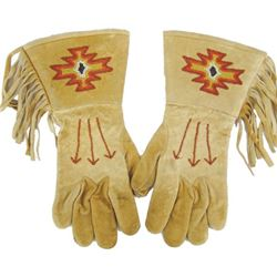 Paiute Beaded Gauntlets