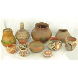 Box Lot of Pottery