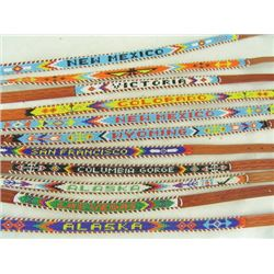 Beaded Souvenir Belts