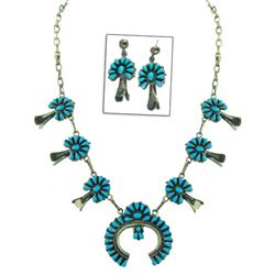 Navajo/Zuni Necklace Set - AA