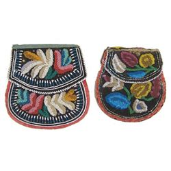 2 Iroquois Beaded Bags