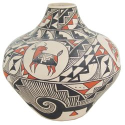 Acoma Pottery Jar - Leland Vallo