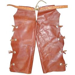Western Leather Chaps
