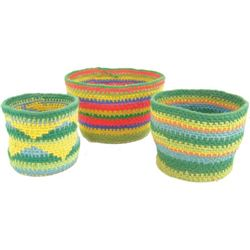 3 Yarn Baskets