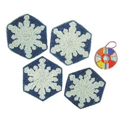 Plateau Beaded Rosettes