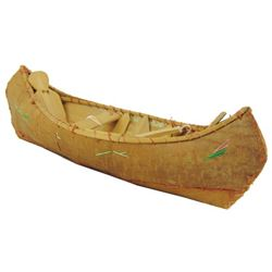 Chippewa Model Canoe