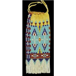 Northern Plains Beaded Pipe Bag