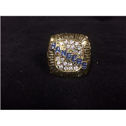 NEW YORK RANGERS REPLICA STANLEY CUP RING (1994 MARK MESSIER)