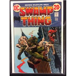SWAMP THING #2 (DC COMICS) SECOND STARTLING ISSUE