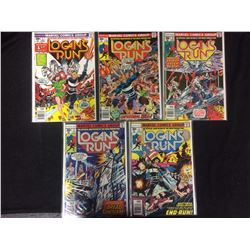 LOGAN'S RUN COMIC BOOK LOT (MARVEL COMICS)