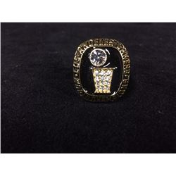 LOS ANGELES LAKERS REPLICA NBA CHAMPIONSHIP RING (ABDUL JABBAR 1985)