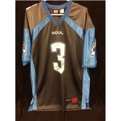 PHILADELPHIA SOUL ARENA FOOTBALL JERSEY AUTOGRAPHED BY BON JOVI (THE WHOLE BAND)