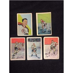 1952-53 Parkhurst HOCKEY CARD LOT