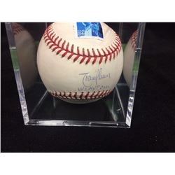 RANDY JOHNSON AUTOGRAPHED BASEBALL LIMITED EDITION 117/500 (JSA COA)