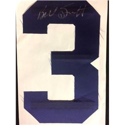 BILLY SMITH AUTOGRAPHED JERSEY NUMBER