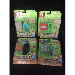 MINECRAFT FIGURES LOT (IN BOX)